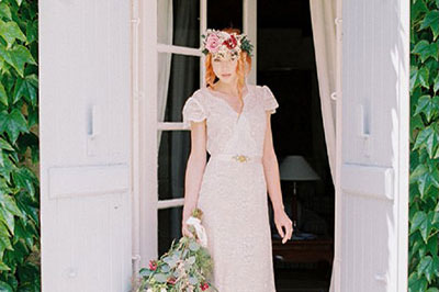 Bordeaux Countryside Wedding Inspiration